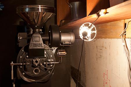 ヤルクコーヒー焙煎機