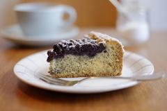 JalkCoffeeのブルーベリーポピーシードーケーキ