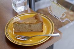 『バナナとくるみのチーズケーキ』
